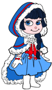 Adorabeezle as a Snow Princess