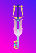 Guardian angel cadence shining armor keyblade by aniamalman-d5kqfoi