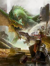 Schubben van kwarts, Dungeons and Dragons