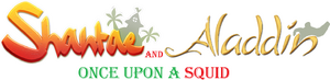 Shantae and Aladdin Once Upon a Squid logo