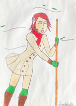 Princess Elise in Winter Clothing 2