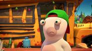 Green Hat Rabbid