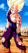 Gohan is injured