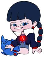 Ballistic Adorabeezle without her Blue Visor 93