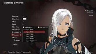 God Eater 3 My Female Character Creation 4K