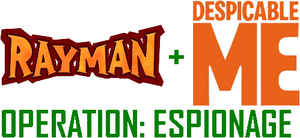Rayman and Despicable Me Operation Espionage logo