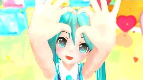 【MMD】チアあぴミクでストロベリー☆