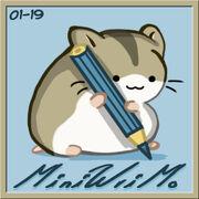 MiniWriMo badge