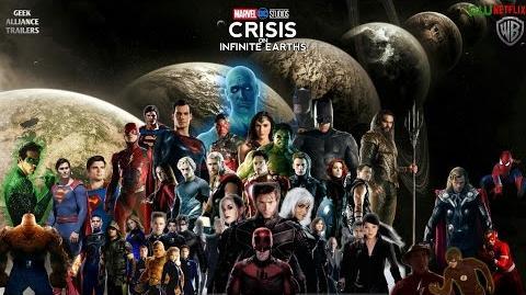 Marvel DC Crisis on Infinite Earths Announcement Teaser (Fan Made)