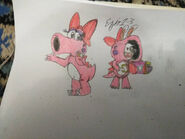Mario rabbids birdo and rabbid birdo by ezio1 3 dceyixp-pre