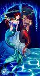 Hypno mermaid ariel x genie jasmine by hachimitsu ink-da6a8i5