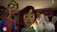 Zak, Zoe and Three Rabbids