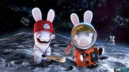 Two Rabbids in Rabbids Big Bang