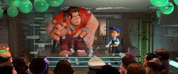 Wreck it ralph fix it felix walt disney pictures classic 2012 2 november 25 diciembre rompe ralph ralph el demoledor personajes characters captura screencaps still