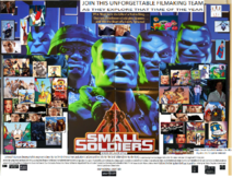 Small Soldiers (1998) (Simon Brunker Style) UK Poster