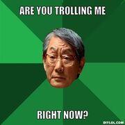 Stupid troll
