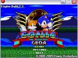 Sonic The Hedgehog GEDA