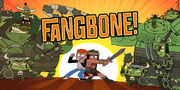 Fangbone! production art