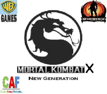 MK X- New Generation Album Cover