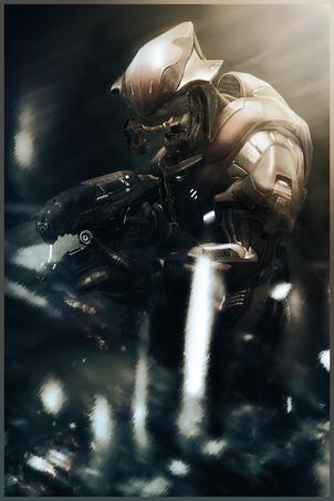 Halo Reach Elite MP by newguy2445