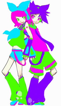 Animefan2013 Kagamine Renee and Lenku