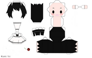 KageneYoi Vocaloid de papel yoi