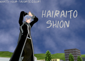 Hairaito-Shion - Hairaito pose