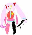 Horrible kawaiine kagami drawing