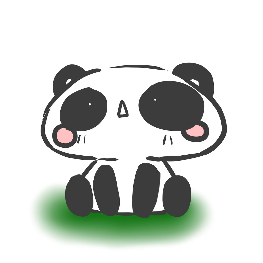 Chibi Panda By Shadethenighthunter D6taqy3