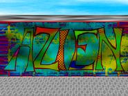 Azien graffiti