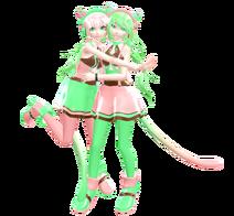 Sakura and Himari