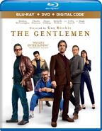 The Gentlemen 2020 USA Blu Ray cover