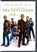 The Gentlemen 2020 USA DVD cover