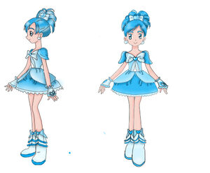 Cure Sapphire.