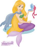 Rapunzel as mermaid by wintertaless-d6wij6m