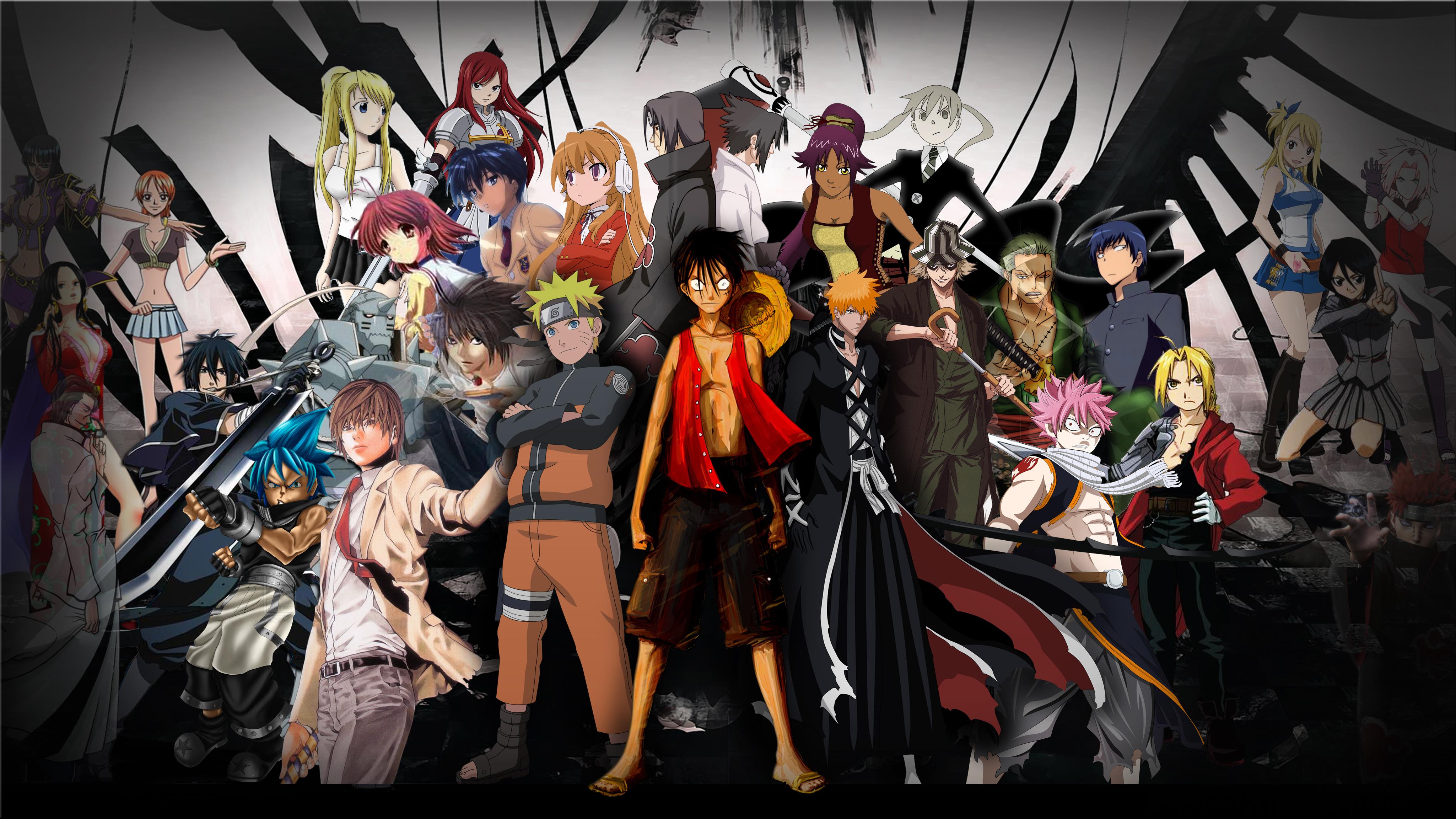 Anime all character wallpaper jpg