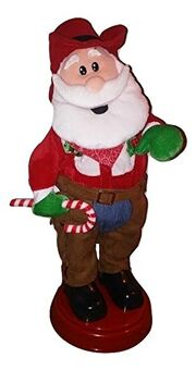 Booty Shaker-Cowboy Santa