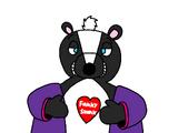Flirty Flasher Skunk