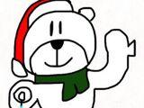 Snowflake spinning polar bear