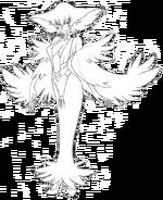 Ragyō Kiryūin body (Sketch)