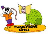 Airblown Inflatable Funnybone Circus scene