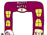 Airblown Inflatable Happy Hotel Archway