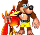Animated Talking Banjo and Kazooie