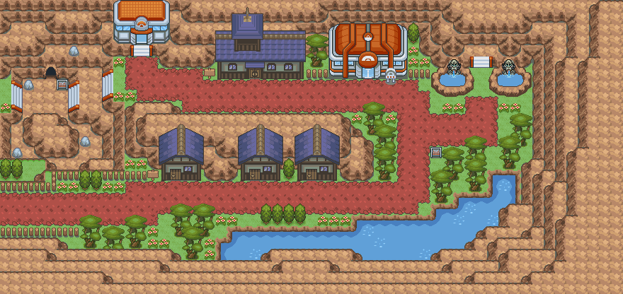 Darkwood Town Fanmadepokemonglazedversion Wiki Fandom Powered