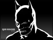 Noir Batman by Yorshy