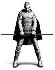 Batman arkham city robin art