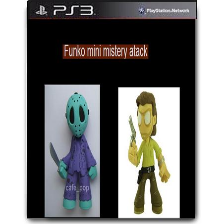 Funko mini mystery atack caratula