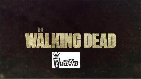The walking dead funko logo