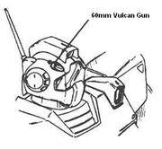 RGM-179-1-60mm Vulcan gun