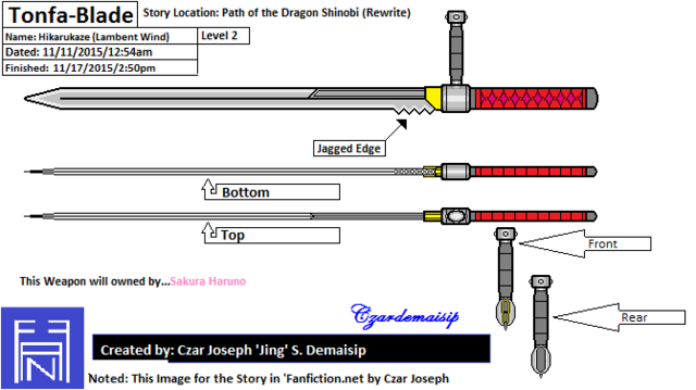 File:Tonfa Blade Level 2 - My fanmade.png